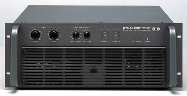 Dynacord Xa2600 Channel Amplifier Build A Hire System